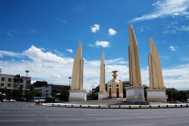 The Democracy Monument, Bangkok